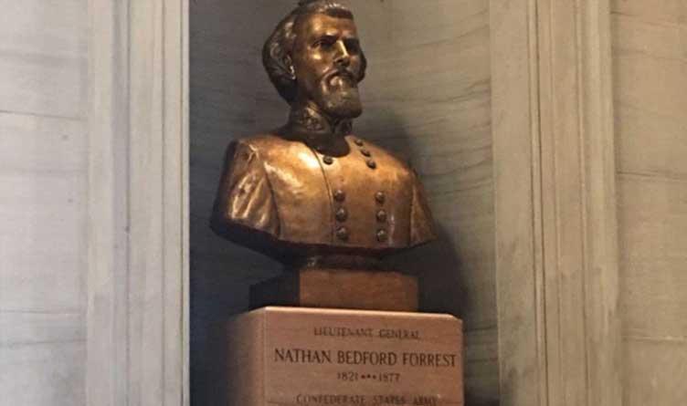 Nathan Bedford Forrest Bust Tennessee Capitol Nashville