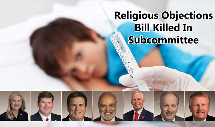 Religious Objections Bill Killed In Subcommittee