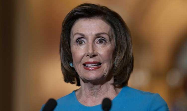 Nancy Pelosi_Coronavirus Aid Package_Capitol Hill_Washington D.C.