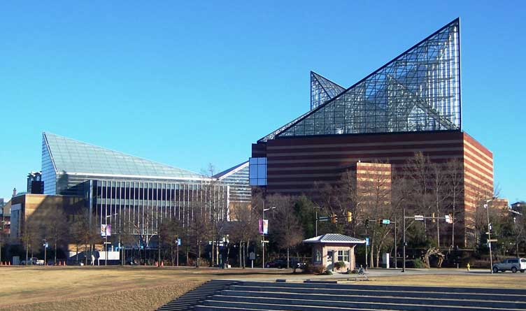 The Tennessee Aquarium in Chattanooga, TN