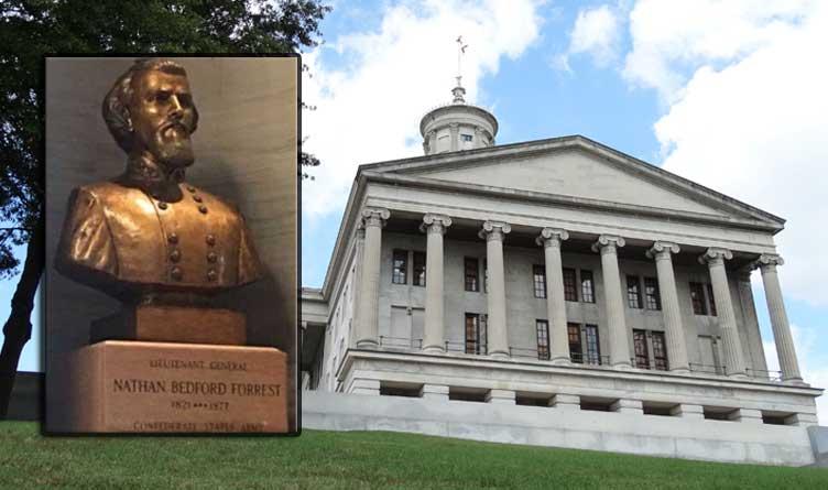 Nathan Bedford Forrest Bust_Statue_Tennessee_Nashville_Capitol Building