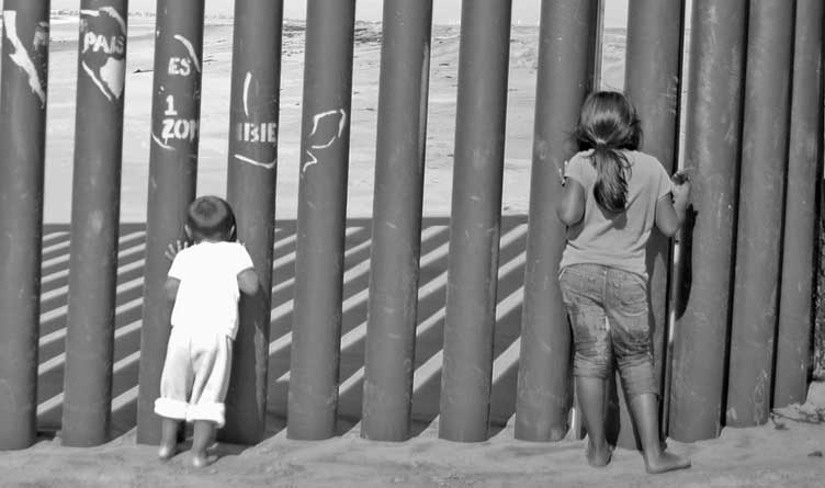 Tijuana US Mexico Border _ Children _ California