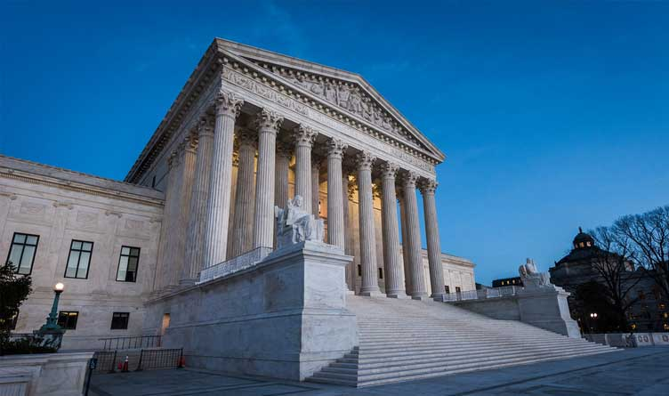 U.S. Supreme Court Building Washington D.C.