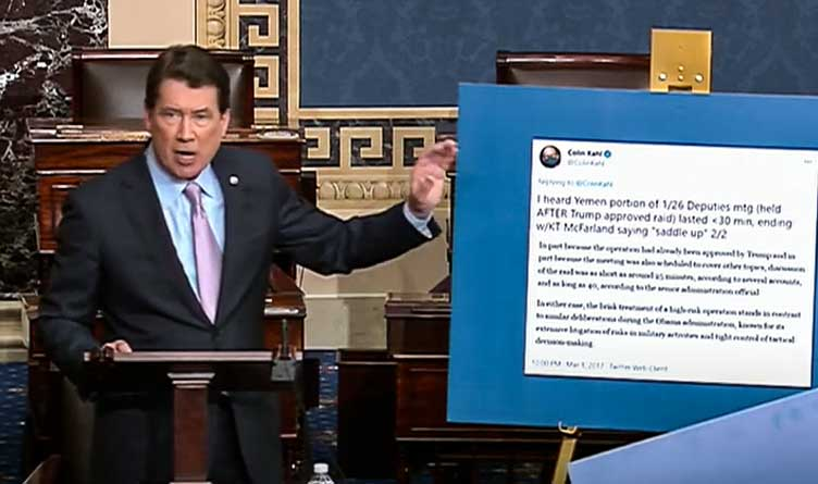 Hagerty Voices Serious Concerns About Department Of Defense Under Secretary Nominee