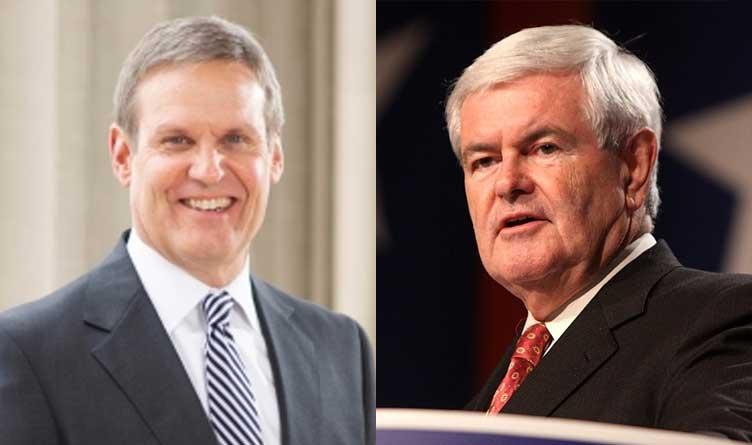 Bill Lee & Newt Gingrich