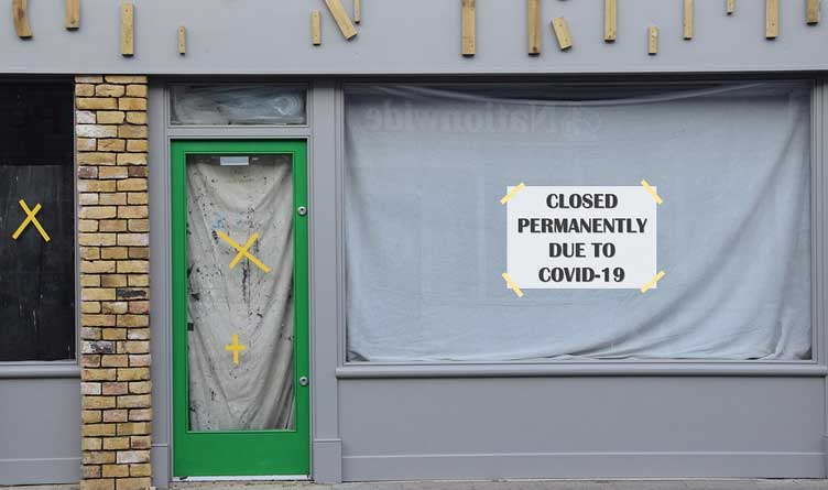 Business Closed Permanently Due To Covid-19