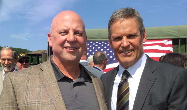 Rep. Scott DesJarlais with Governor Bill Lee