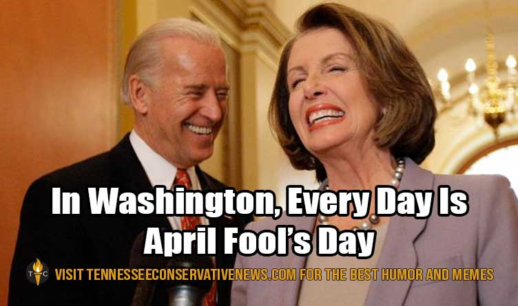 April Fools Day_Washington D.C._Nancy Pelosi_Joe Biden_Meme