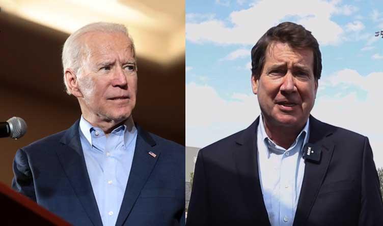 Joe Biden and Bill Hagerty