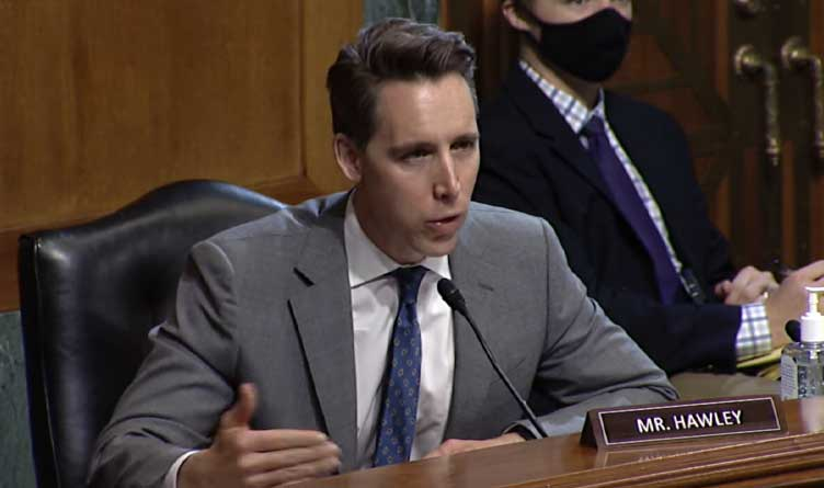 U.S. Rep. Josh Hawley, R-Mo.