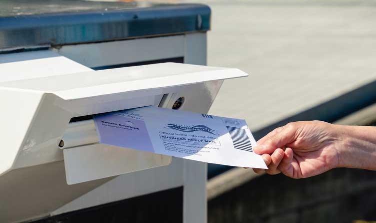 Legislation requiring watermarks on absentee ballots heads to Lee's desk