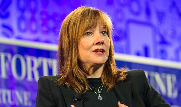 General Motors Chair and CEO Mary Barra