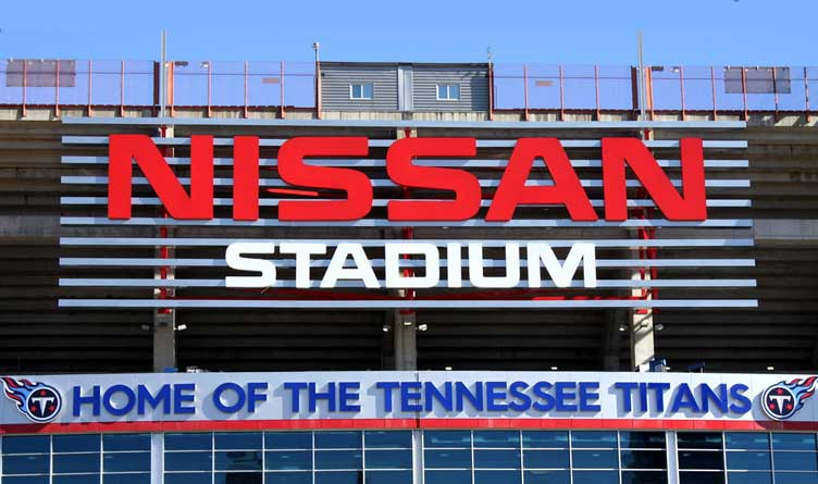 Nissan Stadium - Home of the Tennessee Titans