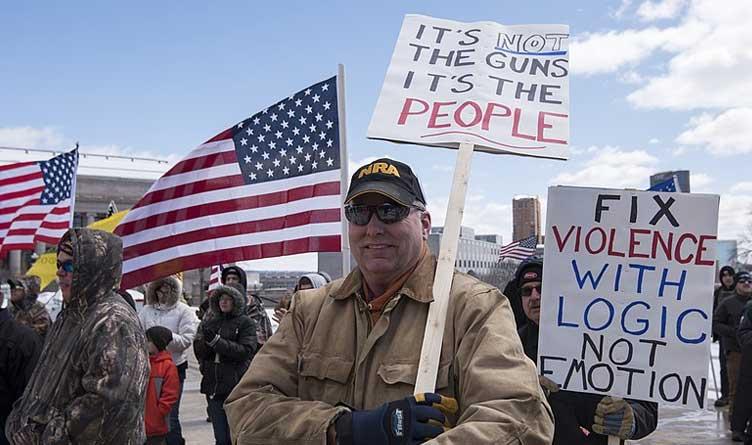 Second Amendment Rights Rally