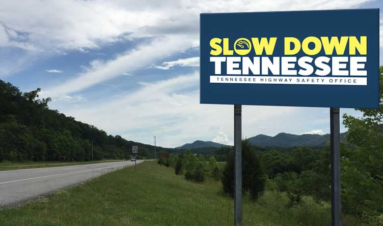 """State Introduces """"Slow Down Tennessee"""""""