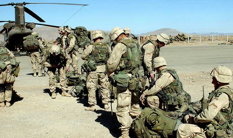 Soldiers from the 101st Airborne Division (Air Assault), 3rd Brigade, Fort Campbell, Kentucky