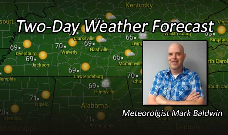Meteorologist Mark Baldwin Tennessee Weather