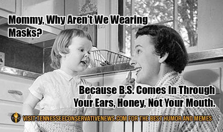 Why Aren't We Wearing Masks? Humor Meme