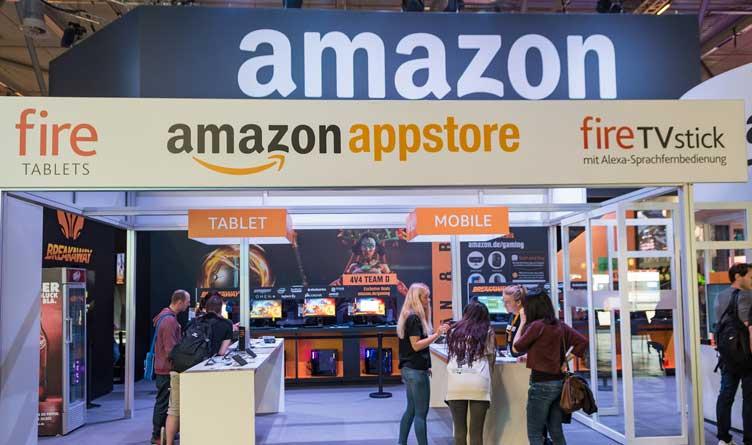 Amazon appstore at Gamescom