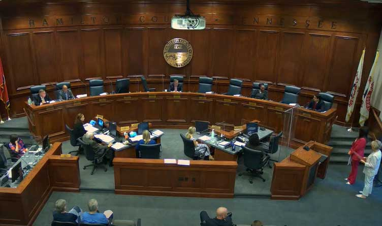 Hamilton County Commission To Appoint Interim Replacement For State Rep Mike Carter