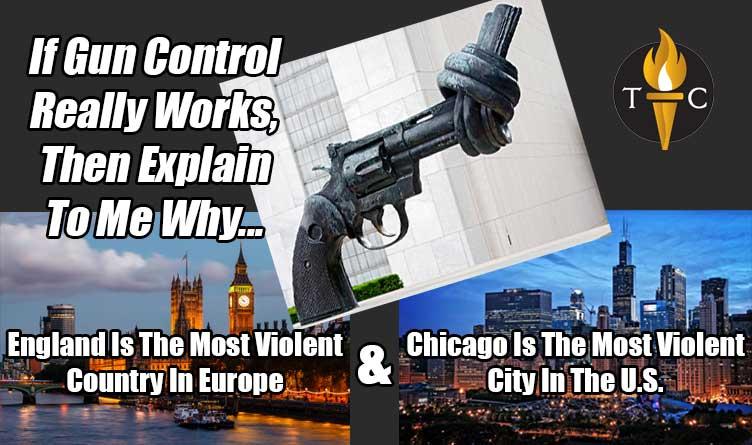 If Gun Control Really Works... Meme