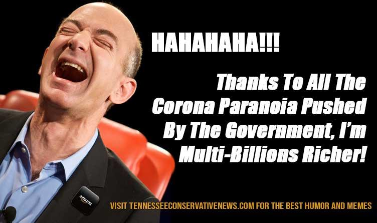 Coronavirus Jeff Bezos Amazon Meme