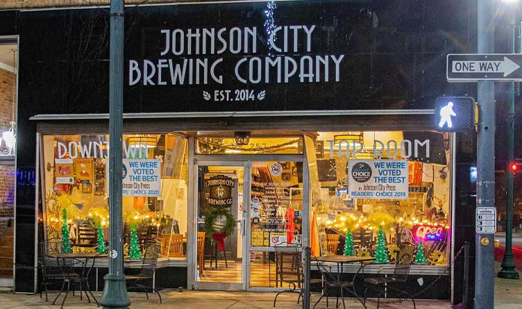 Johnson City Brewing Company Tennessee