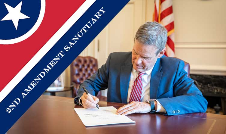 Lee's Signature Makes Tennessee A Second Amendment Sanctuary State