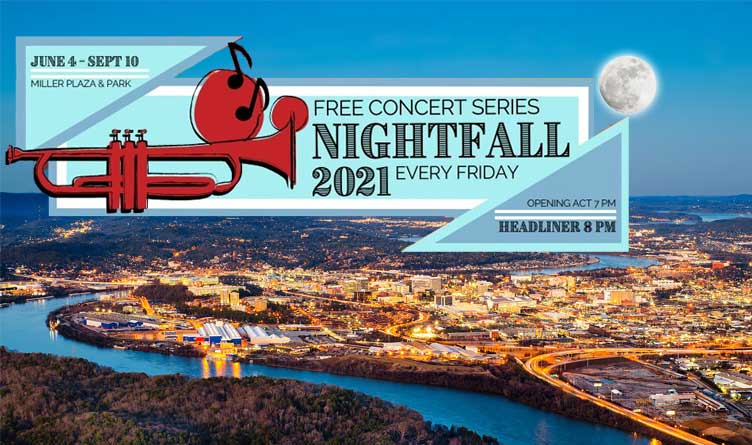 Chattanooga's Nightfall Concert Series Returns With Live, In-Person Performances