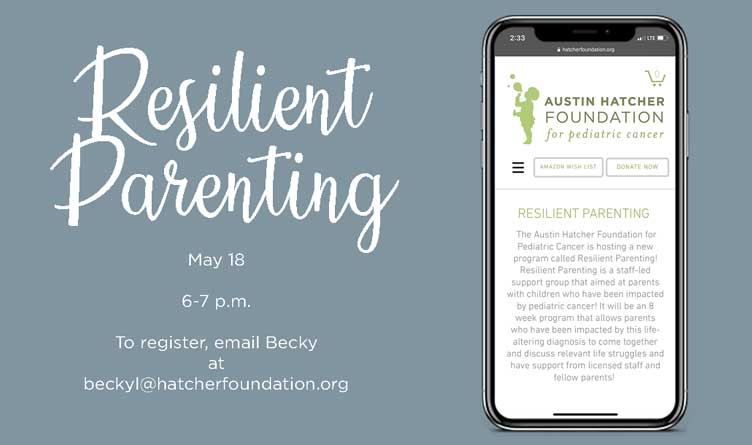 Pediatric Cancer Support Group To Be Hosted By Austin Hatcher Foundation