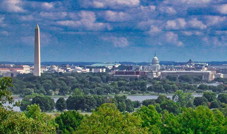 Washington D.C. Skyline From Arlington