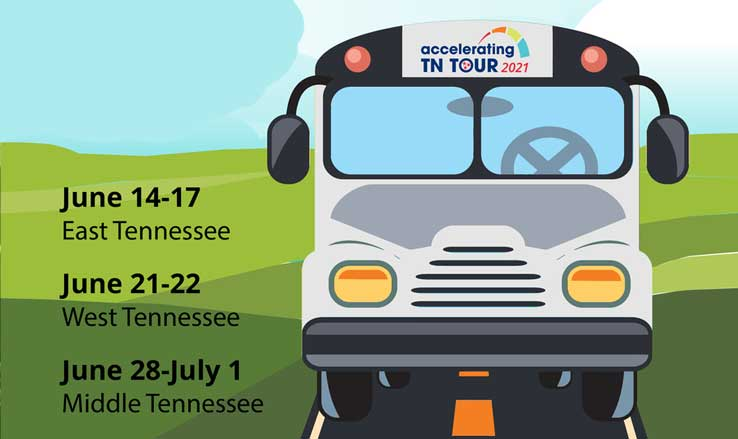 Tennessee Department of Education Announces Accelerating TN 2021 Tour