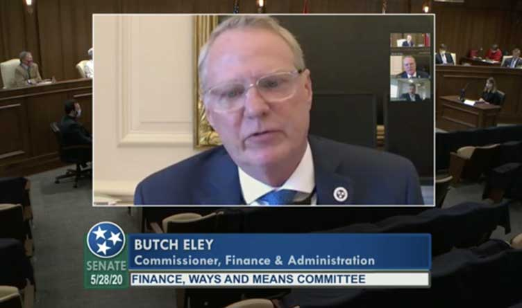 Tennessee Department of Finance and Administration Commissioner Butch Eley