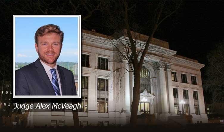 Hamilton County General Sessions Judge Alex McVeagh