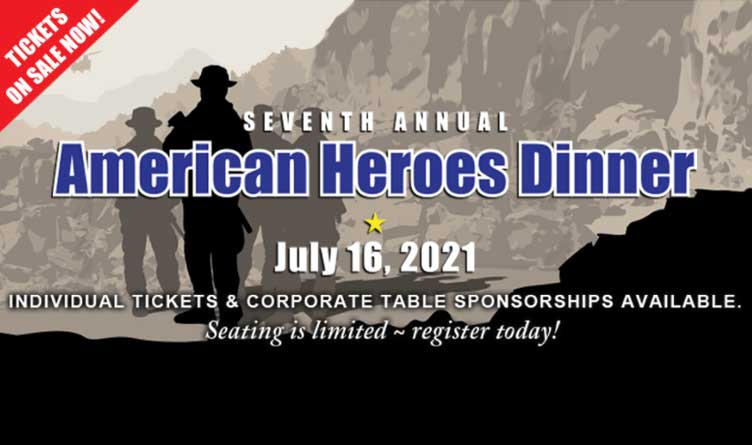 7th Annual Heroes Dinner To Be Held In Chattanooga