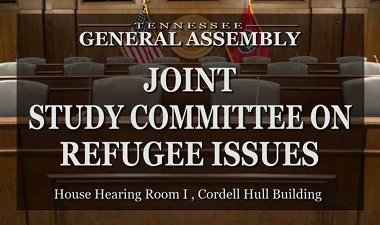 TN Refugee Study Committee Outlines Mission Statement & Agenda