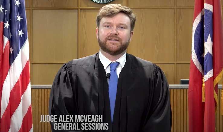 Judge Alex McVeah