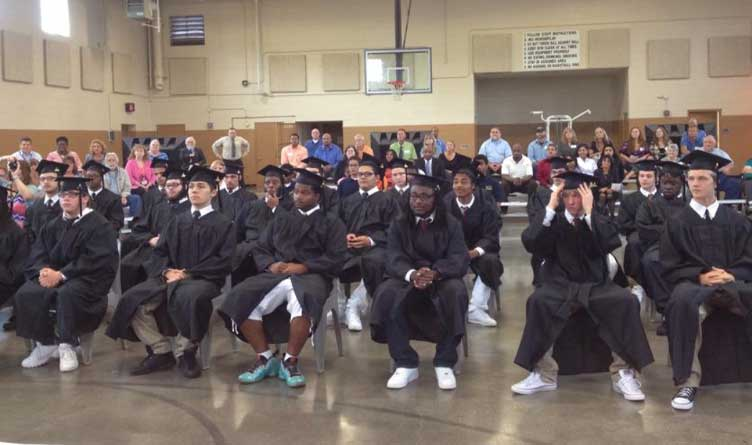 Mountain View Youth Development Center Graduation, Dandridge, TN.
