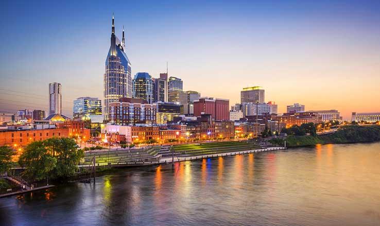 Nashville Tennessee Waterfront