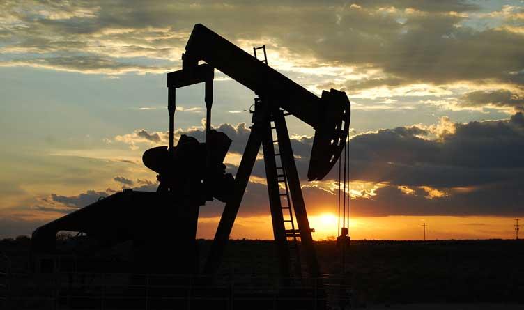 Oil Pump Jack Between Seminole and Andrews, West Texas
