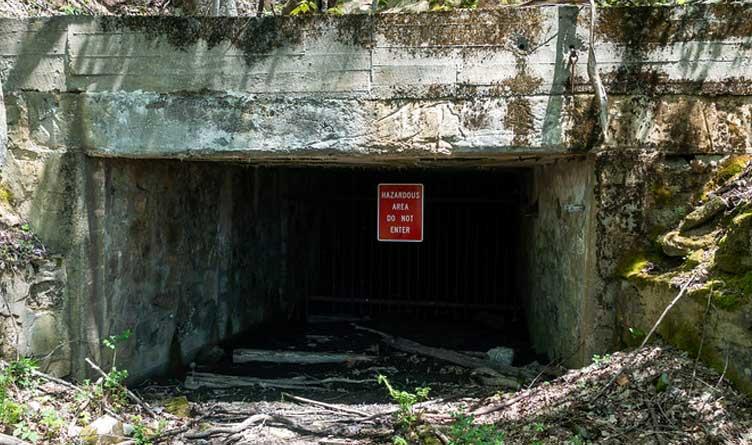 Old Brushy Mountain Prison Coal Mine