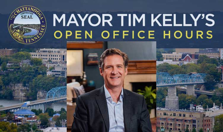 Chattanooga Mayor Kelly Announces Open Office Hours