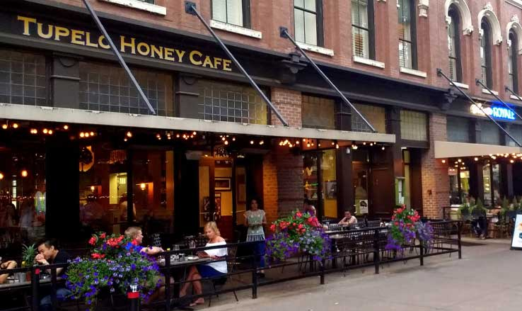Tupelo Honey Cafe Knoxville Tennessee
