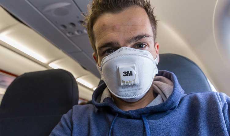 Wearing Mask On Plane Coronavirus
