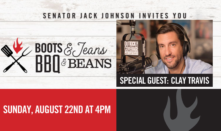 Senator Jack Johnson Announces 15th Annual BBQ Event