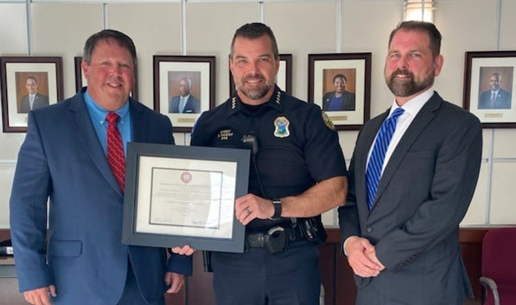 CPD receives accreditation award