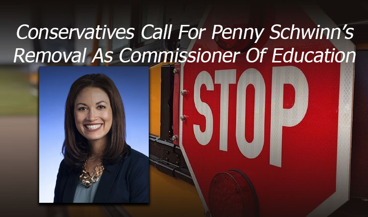 Conservatives Call For Penny Schwinn's Removal As Commissioner Of Education