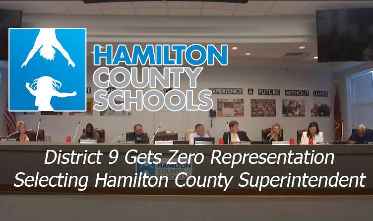 District 9 Gets Zero Representation Selecting Hamilton County Superintendent