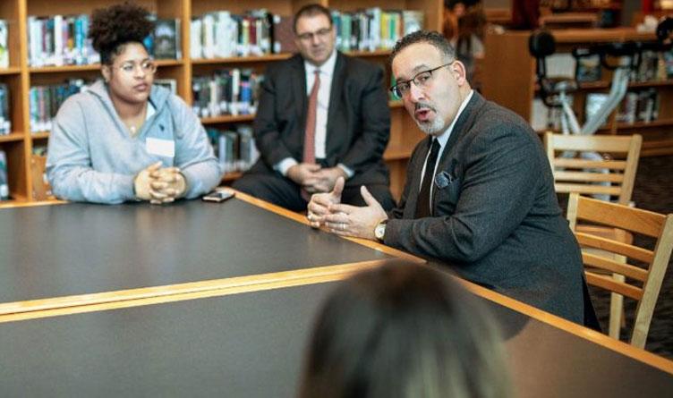 Secretary of Education Miguel Cardona