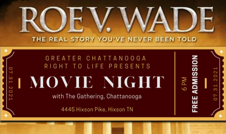 Free Showing Of Roe V. Wade, The Movie